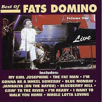 Fats Domino - Fats Domino: Vol. 1-Best of Live Fats Domin [CD] USA import