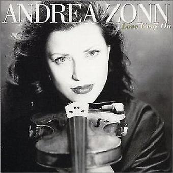 Andrea Zonn - kärlek går på [CD] USA import