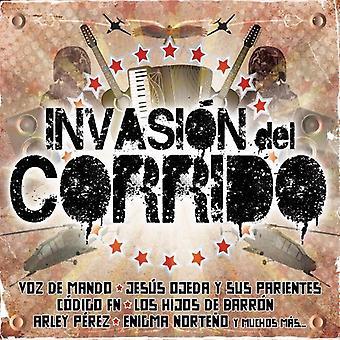 Invasion Del Corrido - Invasion Del Corrido [CD] USA importerer