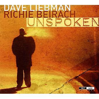 Dave Liebman - uudtalte med Richie Beirach [CD] USA import