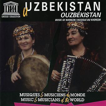 Forskellige kunstner - Usbekistan: Musik af Khorezm [CD] USA import