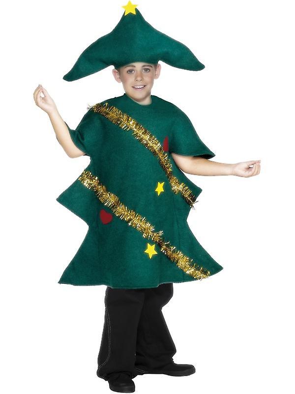 Toddler Christmas Tree Costume.Fir Tree Children Christmas Costume
