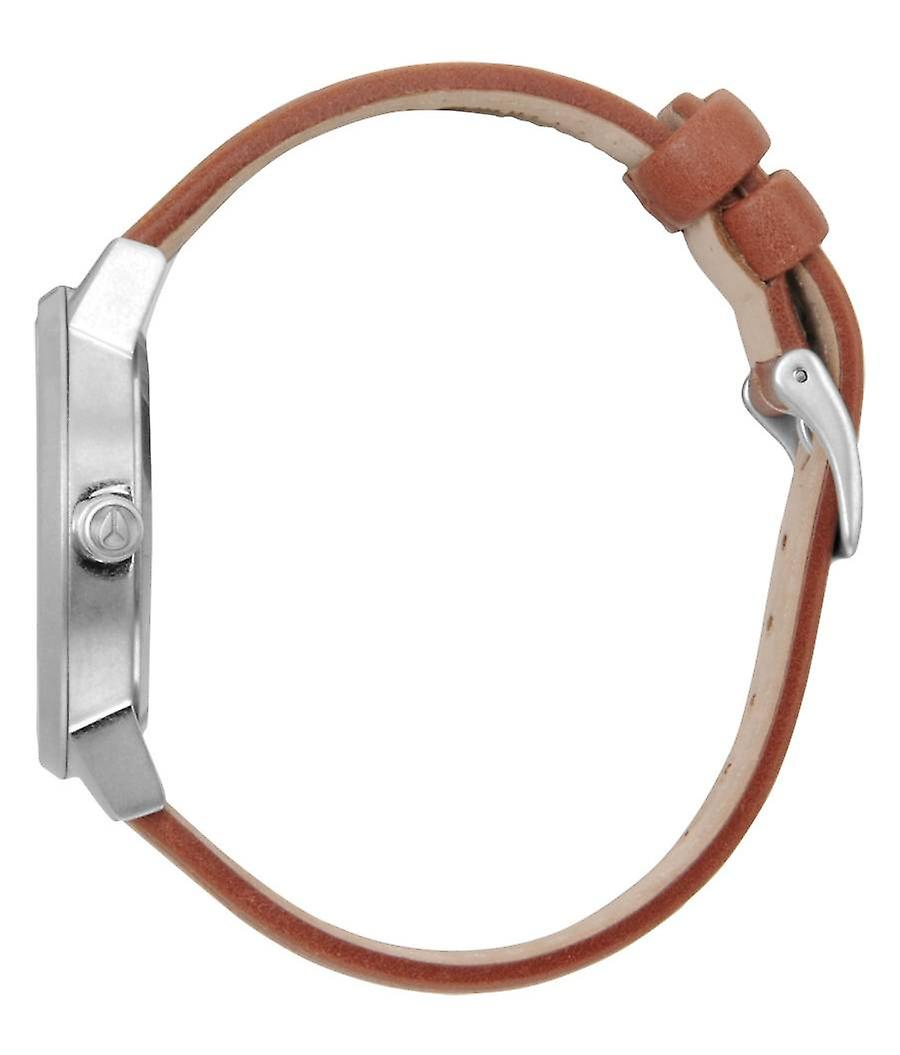 Nixon The Kensington Leather Watch - Saddle