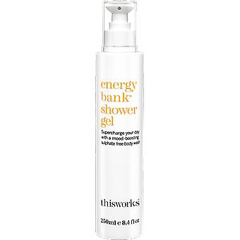 This Works Energy Bank Shower Gel