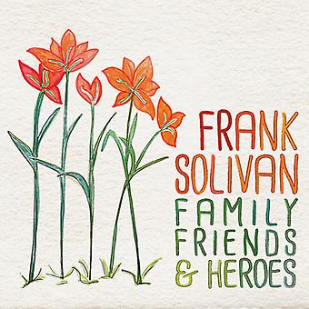 Frank Solivan - Family Friends & Heroes [CD] USA import