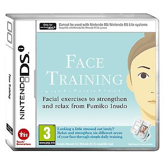 Face Training: Facial Exercises to Strengthen and Relax from Fumiko Inudo (Nintendo DS)