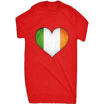 Renowned irish flag heart