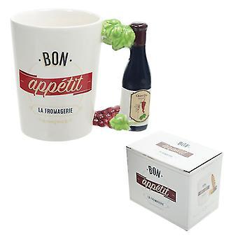 Puckator Bon Appetite Fromagerie Mug