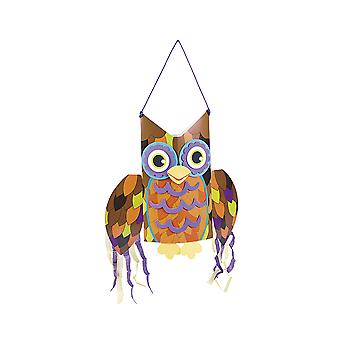 12 Jumbo Brown Owl Windsock Craft Kits - Halloween | Kids Halloween Crafts