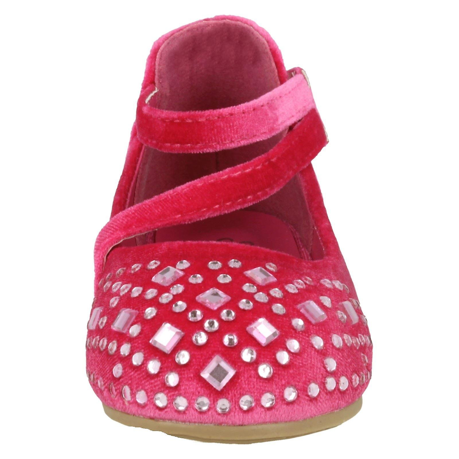 Girls Savannah Savannah Savannah Flat Velvet Shoes H2439 12804c