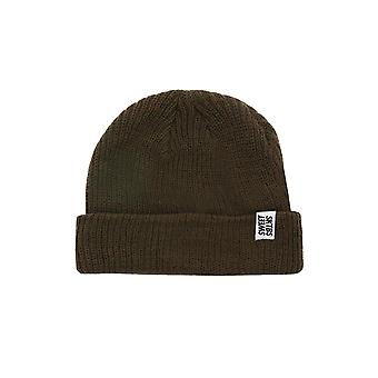 Sweet SKTBS ribbed Beanie Hat Knit Beanie Brown ribbed style