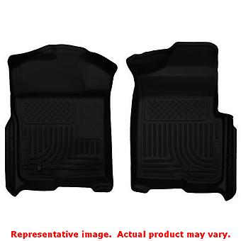 Husky Liners 18331 Black WeatherBeater Front Floor Line FITS:FORD 2009 - 2014 F