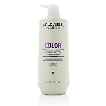 Goldwell Dual Senses Color Brilliance Shampoo (Luminosity For Fine to Normal Hair) - 1000ml/33.8oz
