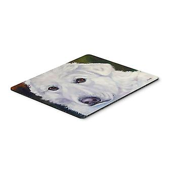 Great Pyrenees Contemplation Mouse Pad, Hot Pad or Trivet