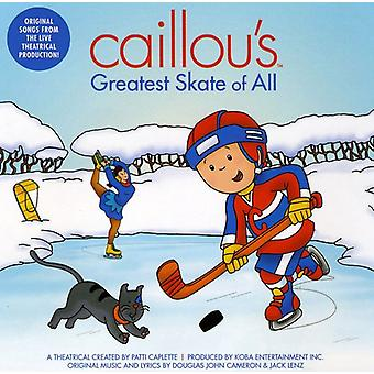 Caillou - Caillou's Greatest Skate of All [CD] USA import