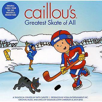 Caillou - Caillous största Skate för alla [CD] USA import