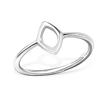 Marquise - 925 Sterling Silver Plain Rings - W29254x