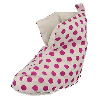 Girls Duvet Ducks Bootee Style Slippers