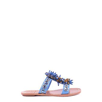 Tory Burch women MCBI296008O Blau leather sandals