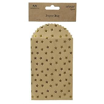 Heaven Sends Gold Star Mini Envelopes (Set of 6)