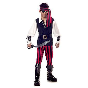 Cutthroat Pirate Captain Buccaneer Halloween Boys Costume