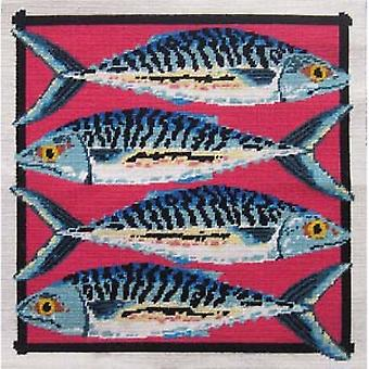 Mackerel Needlepoint Canvas