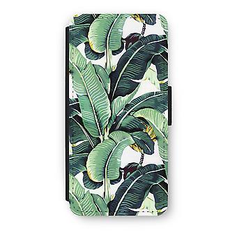 iPhone 5/5S/SE caso Flip - folhas de bananeira