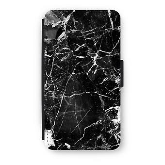Samsung Galaxy A3 (2016) Flip Case - svart marmor 2