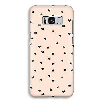 Samsung Galaxy S8 Full ut fallet - lite katter
