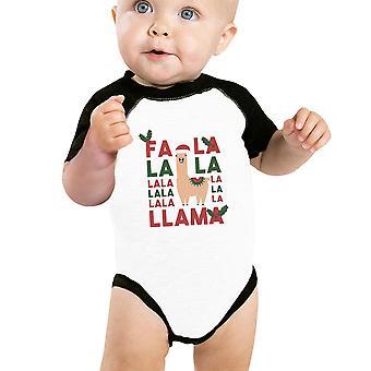 Falala Lama Baby Raglan Shirt Raglan eerste X-mas Baby geschenken