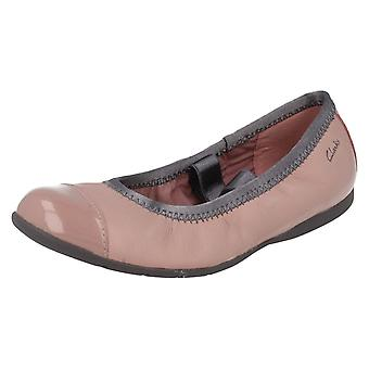 Girls Clarks Mary Jane Casual Shoes Dance Flex