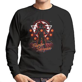 Dragon Ball Z Retro Super Saiyajin Herren Sweatshirt