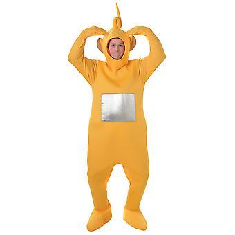 Teletubbies Laa Laa Laa-Laa Yellow Adult TV Dress Up Women Men Costume STD