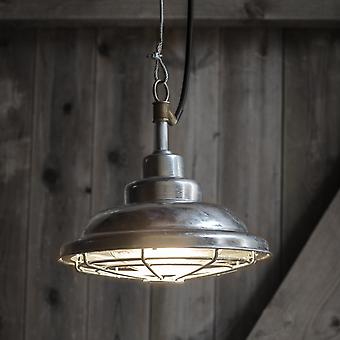 Garden Trading St Ives Mariner Galvanised Outdoor Pendant Light