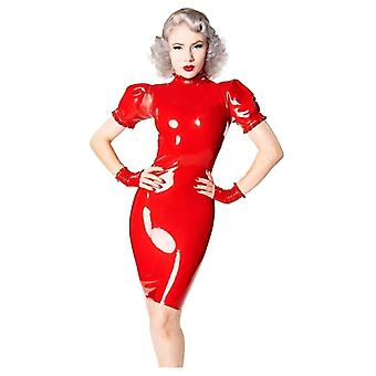 Vestover bundet Damoiselle Latex gummi Dress.