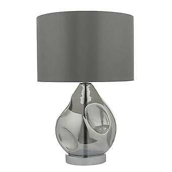 Quinn Table Lamp Smoked Shade Included