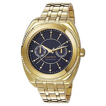 ESPRIT ladies watch wristwatch Clymene stainless steel gold EL102072F05