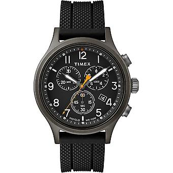 Timex mens watch Allied chronograph 42 mm silicone strap TW2R60400