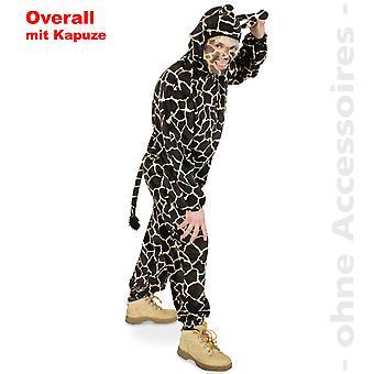 Giraffe overall giraffe suit Africa hooded jumpsuit costume unisex