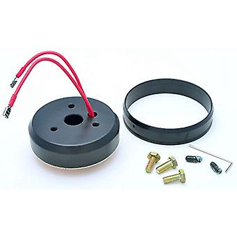 GT Performance 20-6004 Install Hub for Ford, Black Anodized
