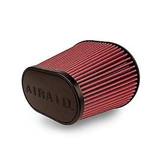 Airaid 720-472 Universal Clamp-On Air Filter: Oval Tapered; 6 in (152 mm) Flange ID; 9 in (229 mm) Height; 10.75 in x 7.