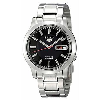 Seiko 5 Automatic Black Dial Stainless Steel Men's Watch SNK795K1 SNK795K SNK795