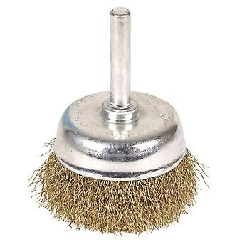 Wolfcraft Brass brush 50 mm diameter (DIY , Tools , Consumables and Accessories)
