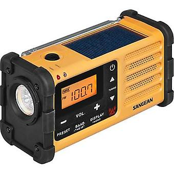 Sangean MMR-88 FM im freien Radio Akku-Ladegerät, Fackel, wiederaufladbare schwarz, gelb