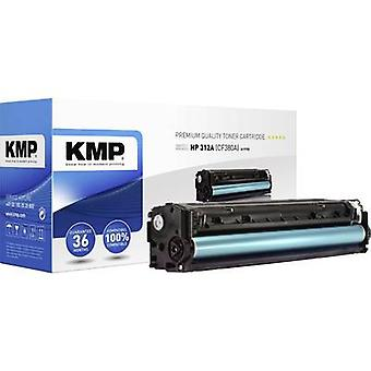 KMP Toner cartridge replaced HP 312A, CF380A Black 2400 pages H-T195
