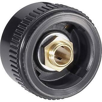 Mentor 4133.603 Knurled head button Black (Ø x H) 28 mm x 17 mm 1 pc(s)