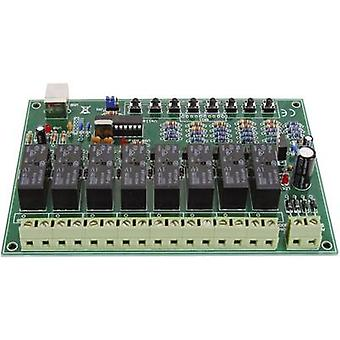 Relay card Component Velleman VM8090 9 Vdc, 12 Vdc