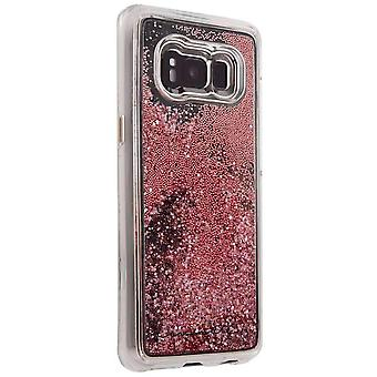 Case-Mate Naked Tough Waterfall Samsung Galaxy S8 Plus Phone Case - Rose Gold