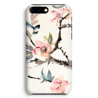 iPhone 8 Plus hela Print fallet (glättat) - Japenese blommor