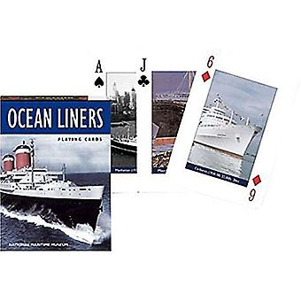 Ocean Liners Set Of Playing Cards + Jokers